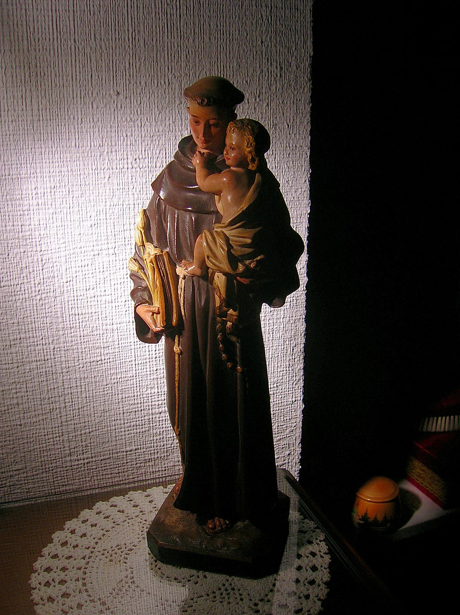 saint anthony of padua, holy, holiness, child jesus, san antonio de lisboa, franciscan