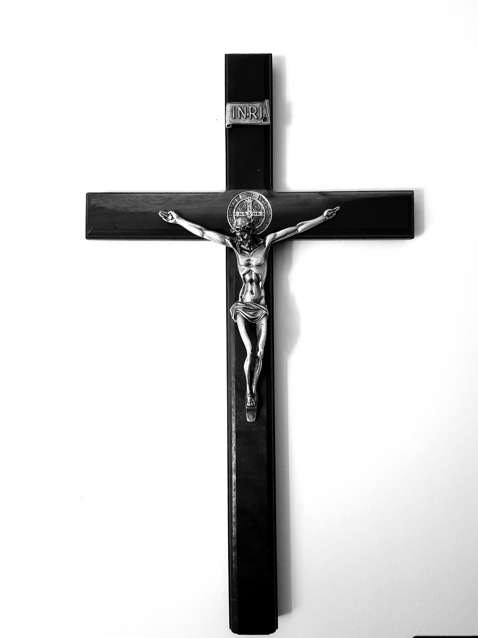 cross, crucifix, black and white, salvation, redemption