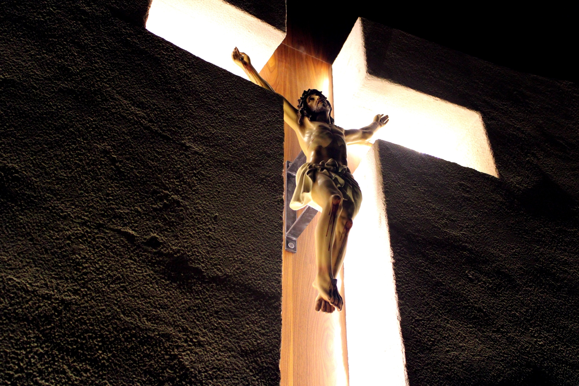 cross, light, death, jesus, darkness