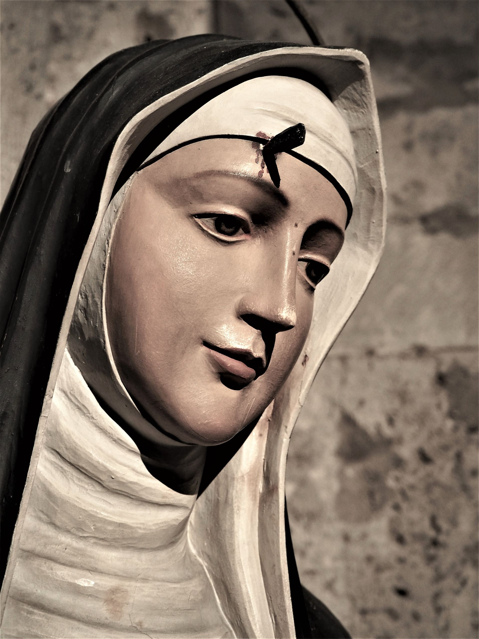 face, holy, holiness, santa rita de casia, patron of impossible causes
