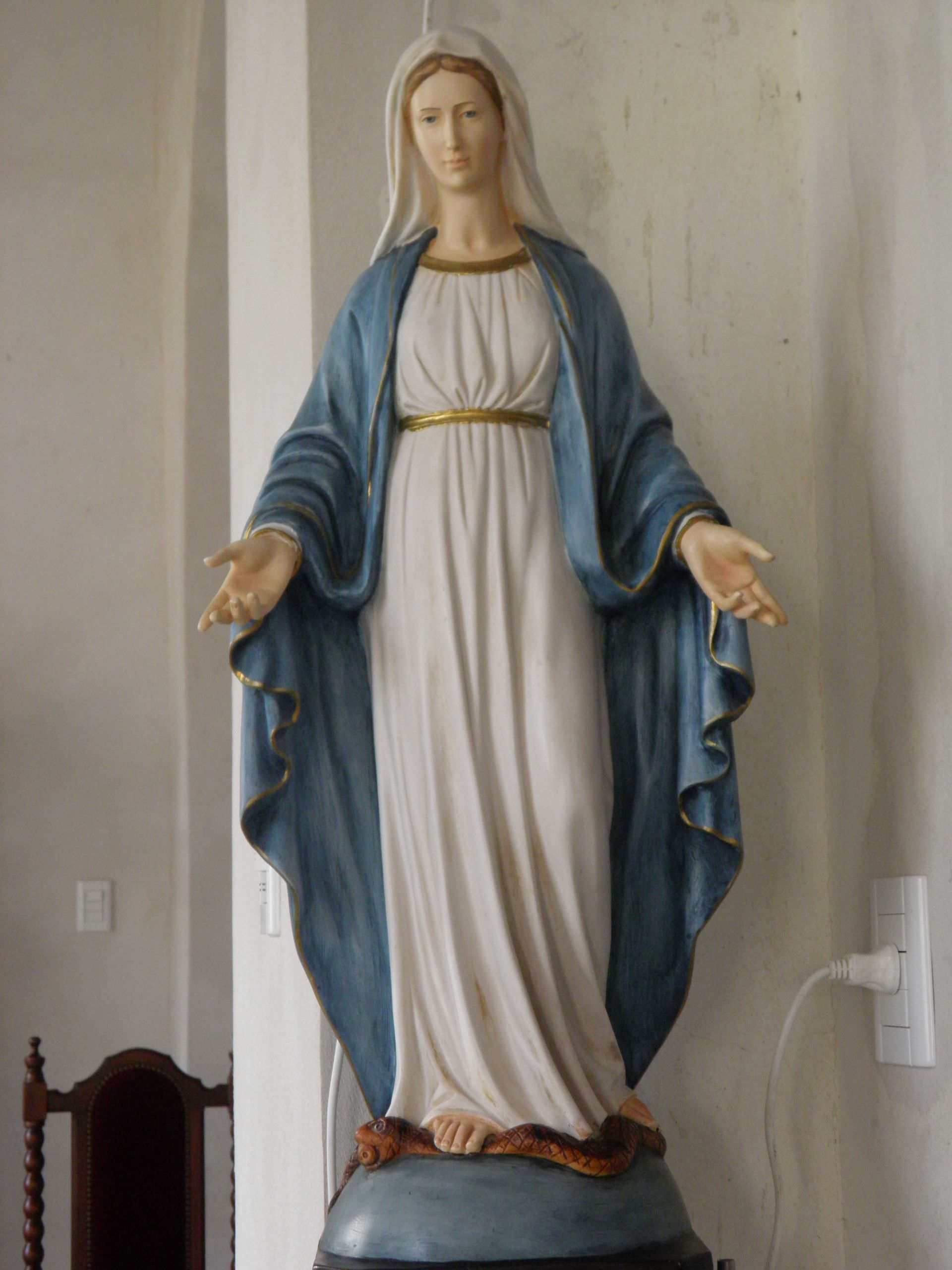 virgin of the miraculous medal, virgin mary, our lady of the miraculous medal, marian advocation