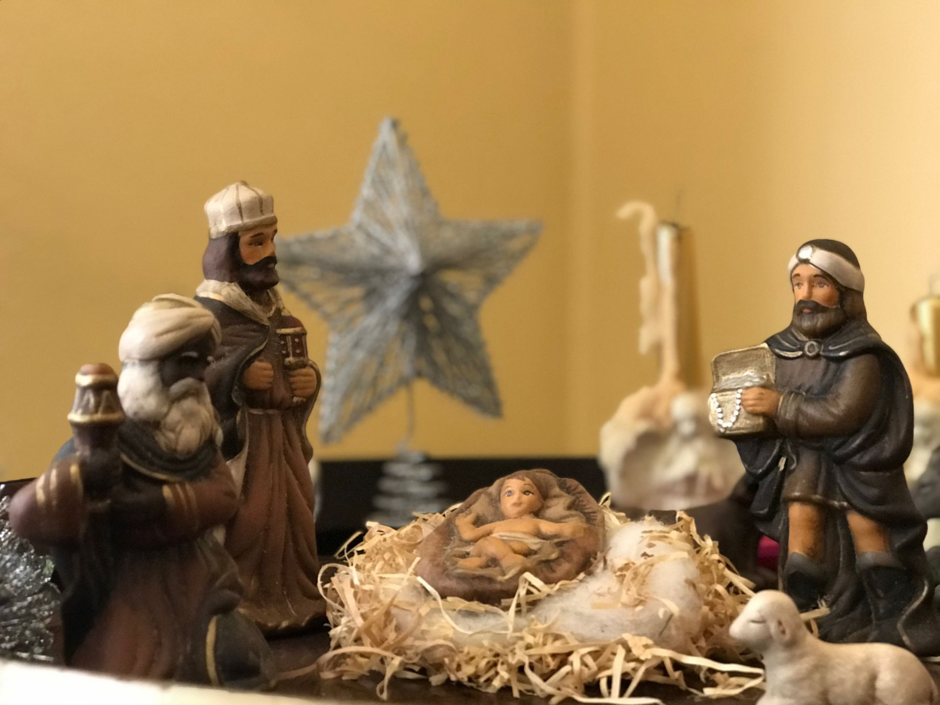 star, birth, god child, wise men, meeting, epiphany, christmas