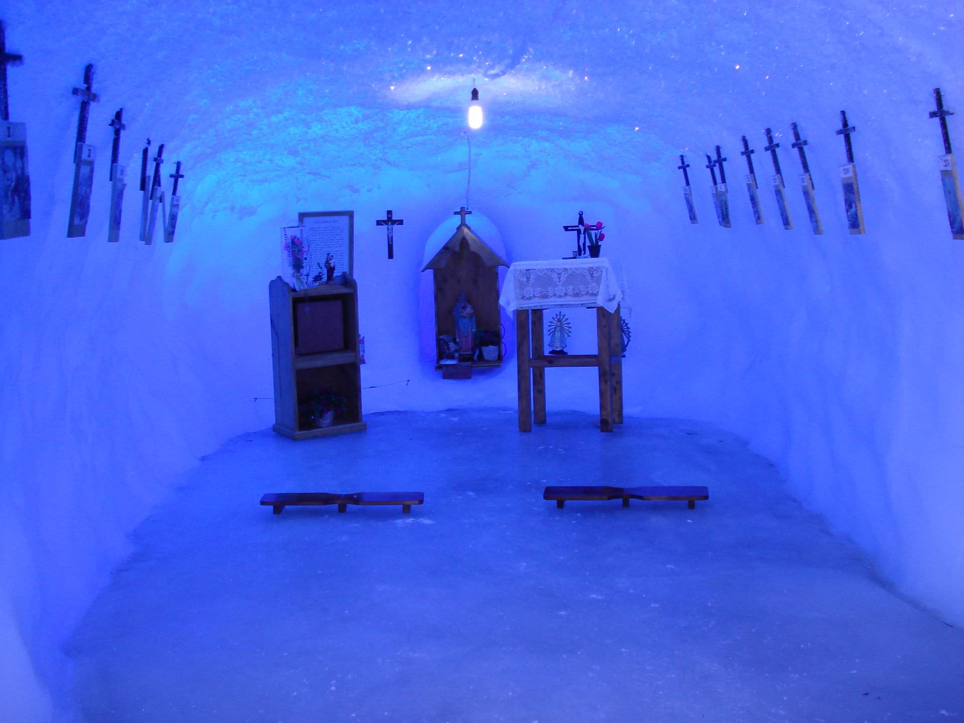 church, chapel, ice chapel, antartica, argentine antarctic, ice church, antarctica