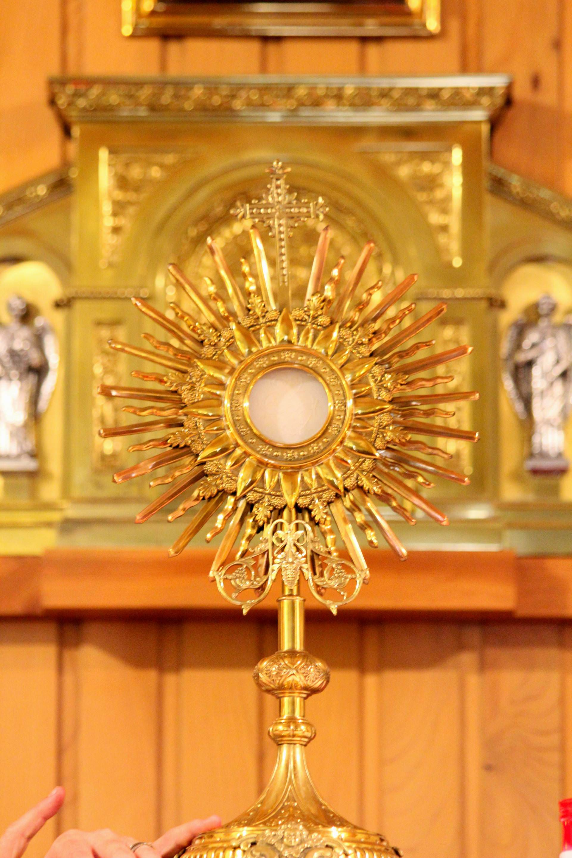 exposition, blessed sacrament, consecrated host, worship, to worship, eucharist, bread of life, god, king, sir, bread from heaven, ostensorio, body of christ