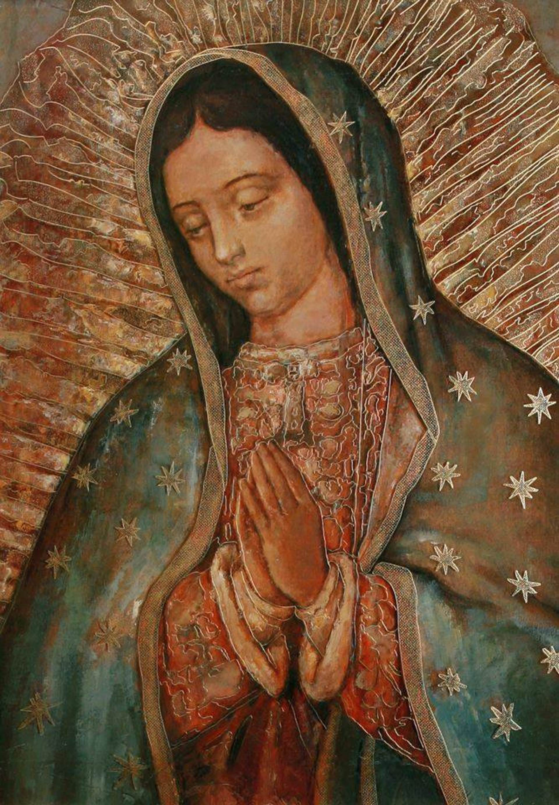 santa maria of guadalupe, virgin mary, guadeloupe, guadalupana, empress of america, marian advocation, queen of mexico