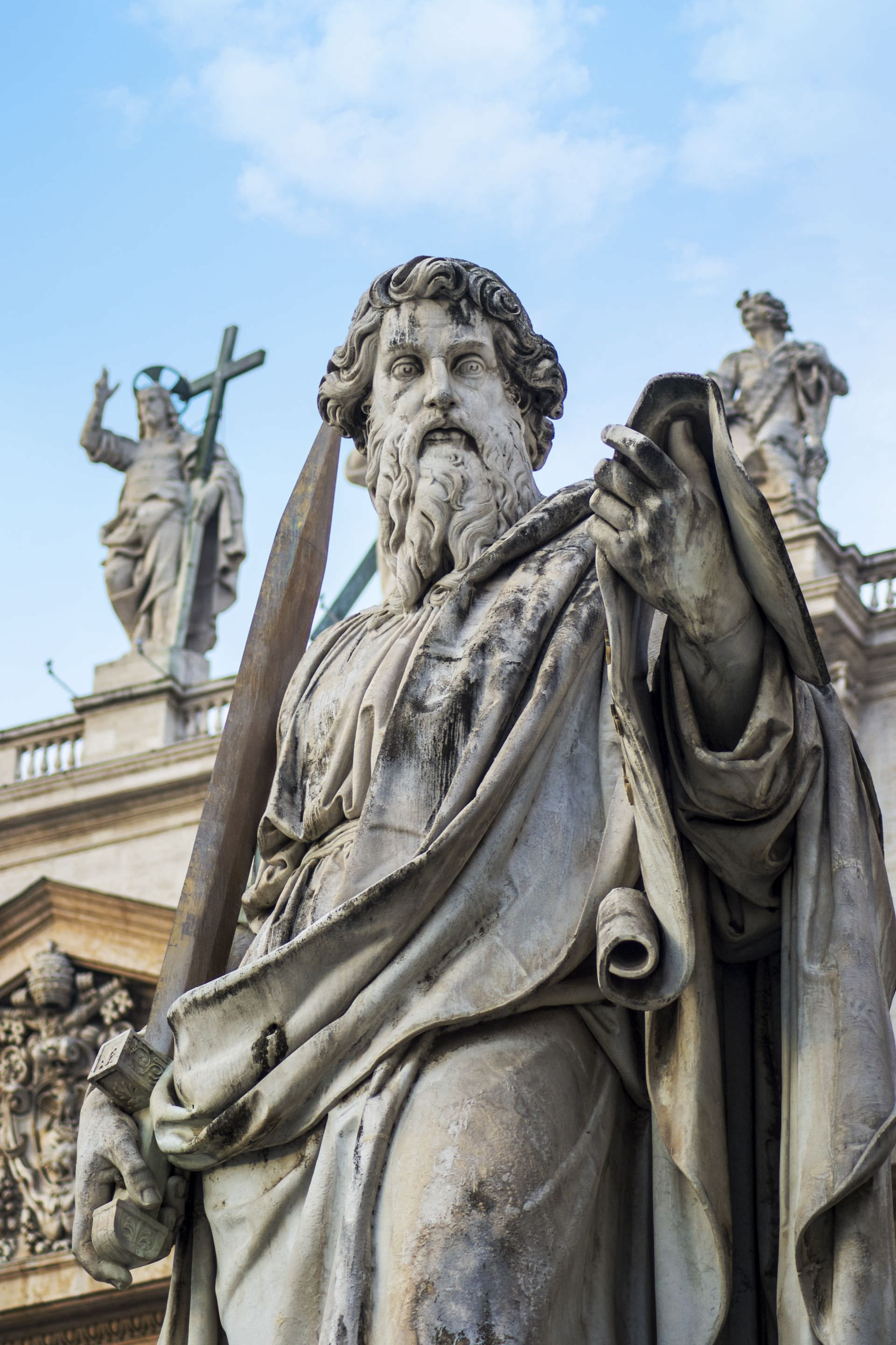 vatican, rome, saint paul, sword, pablo