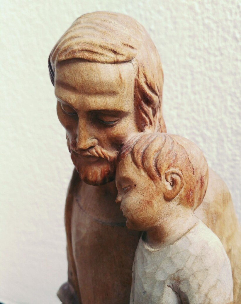 holy, holiness, saint joseph, child jesus