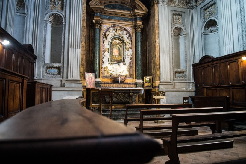 church, sentence, silence, christ, loneliness, jesus, rome, sanctuary