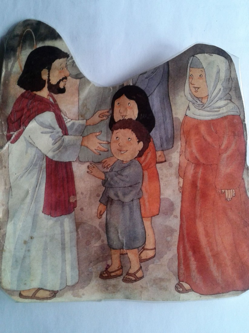 mother, jesús, niños