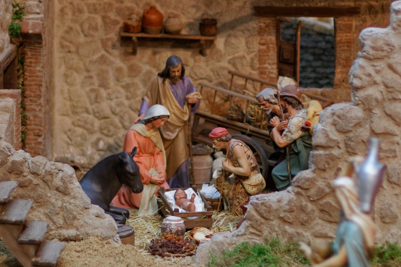 virgin, jesus, madrid, maria, belen, nino, birth, san, jose, sun, manger, shepherds, butter, worshiping