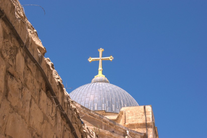dome, jerusalem, viacrucis, tomb, painful way
