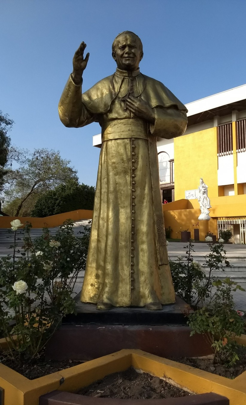 holy, parish, san juan pablo ii