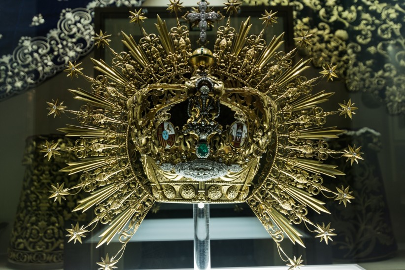 The Crown of The Virgin of hope of Macarena