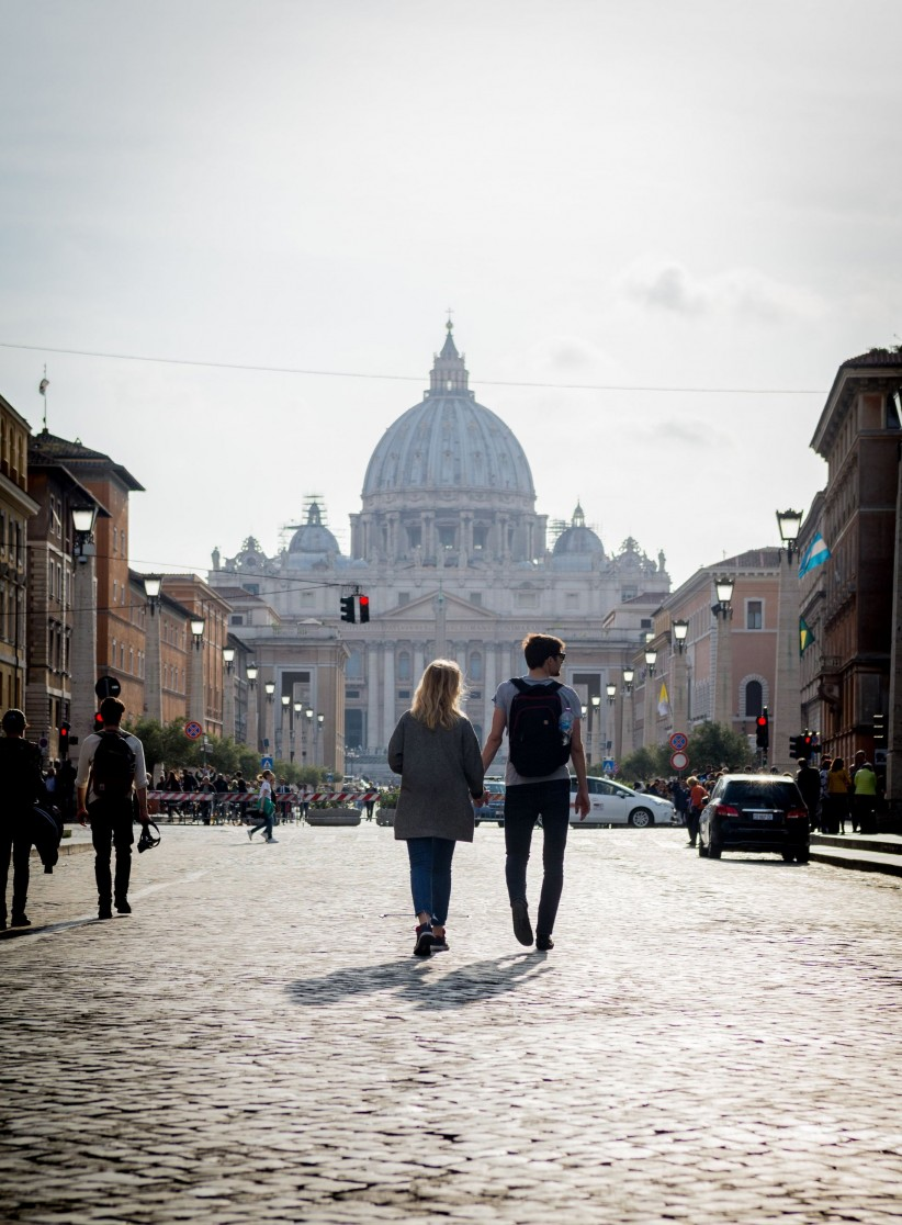 church, boyfriends, love, marriage, rome, basilica, engagement, partner