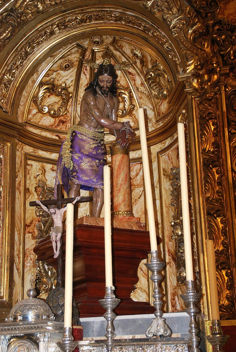 christ in the column, jesus, son of god, christ, salvador, sir, redeemer, king, calvary, passion, via crucis, viacrucis