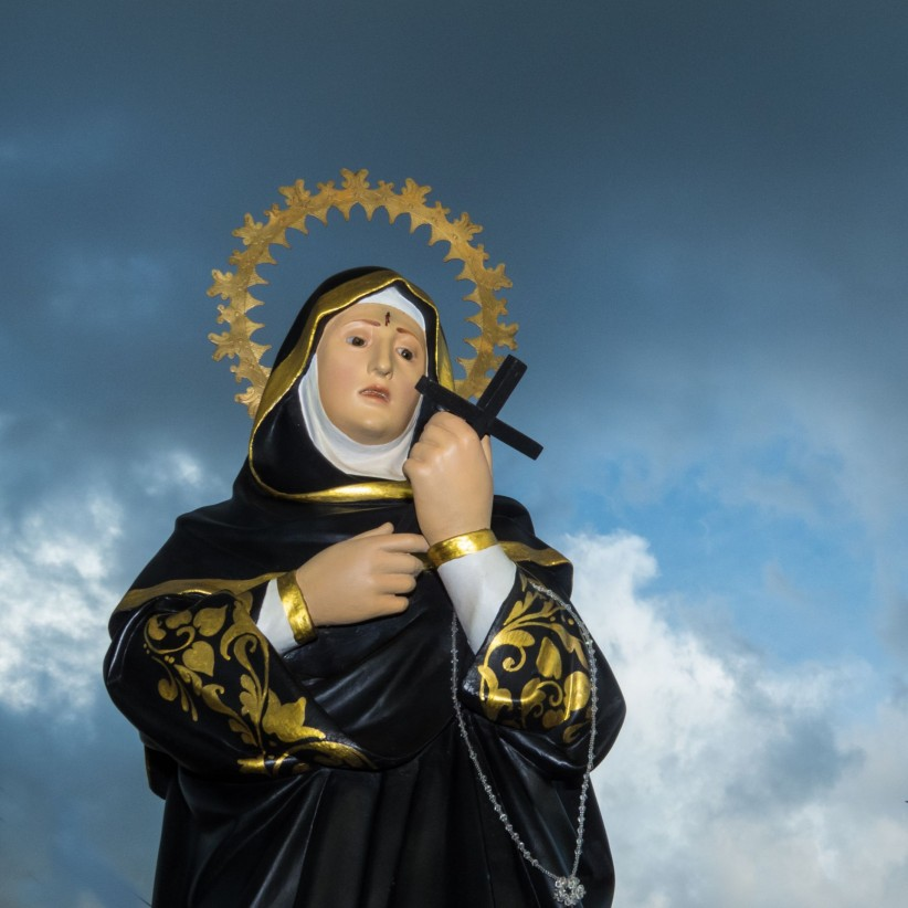 santa rita de casia, holy, holiness, patron of impossible causes