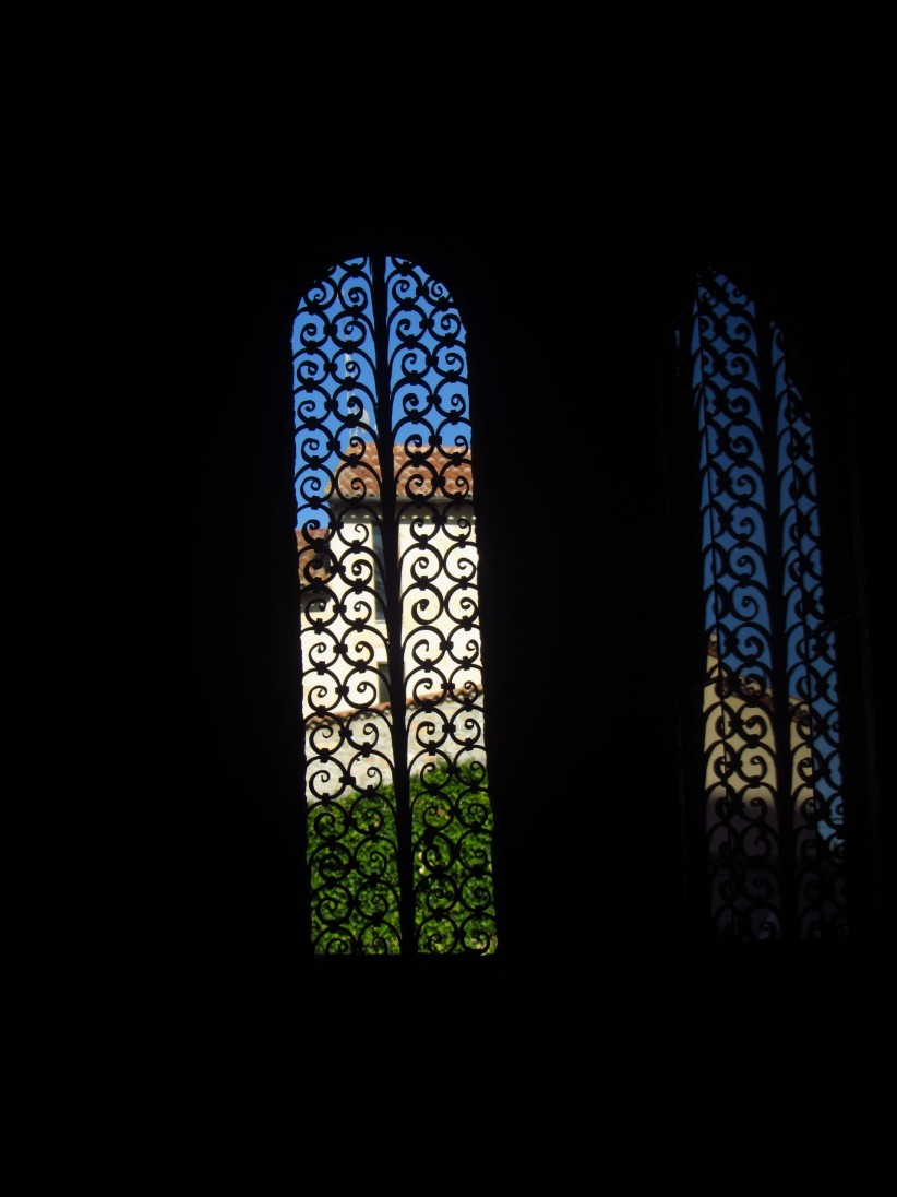 light, church, window, darkness, contrast, reflection, new