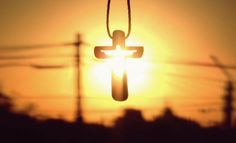 light, cross, pendant