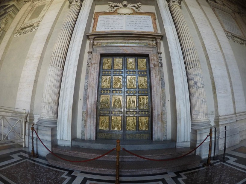 vatican, holy door, basilica of saint peter