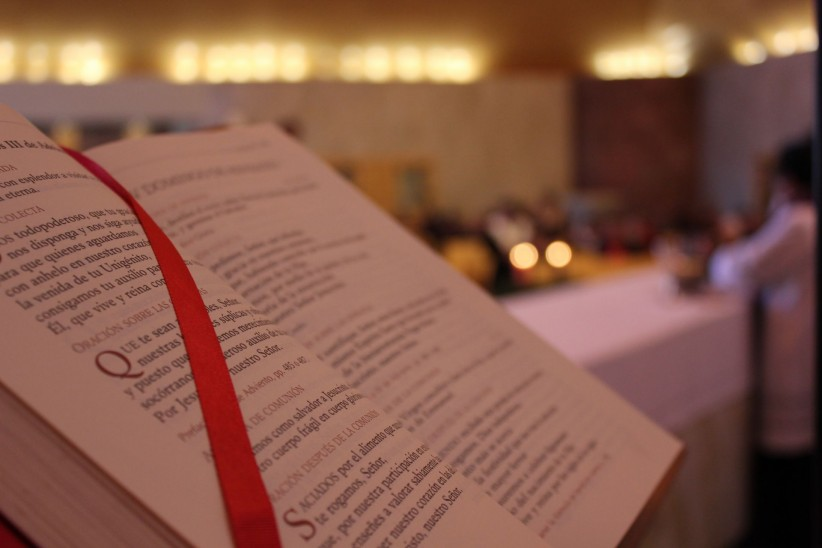 bible, altar, father, mass, word