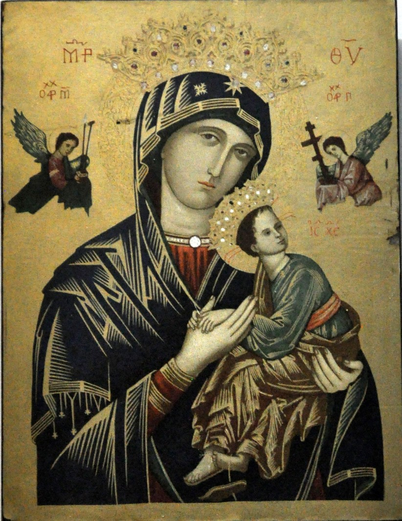belen, christmas, sacred family, virgin mary, marian advocation, virgin of perpetual help, our lady of perpetual help