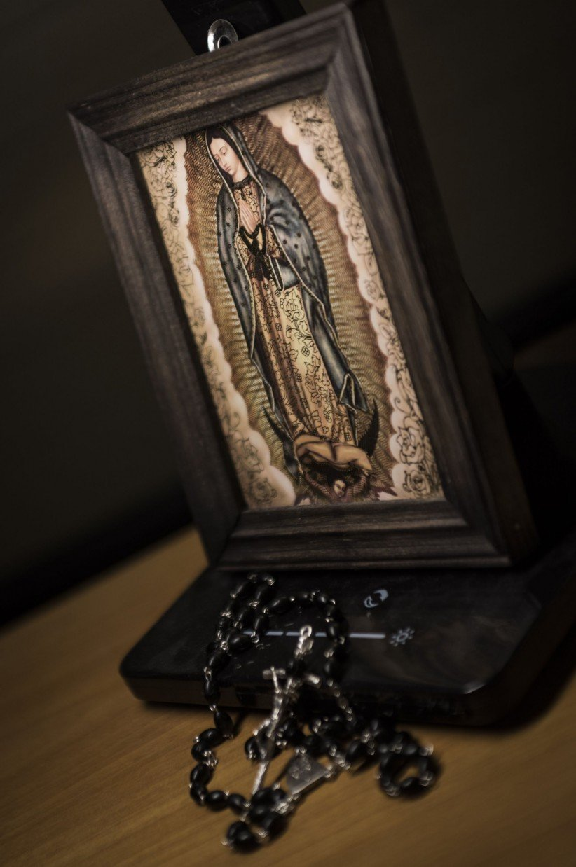 christ, rosary beads, virgin, jesus, maria, mexico, guadeloupe, fe
