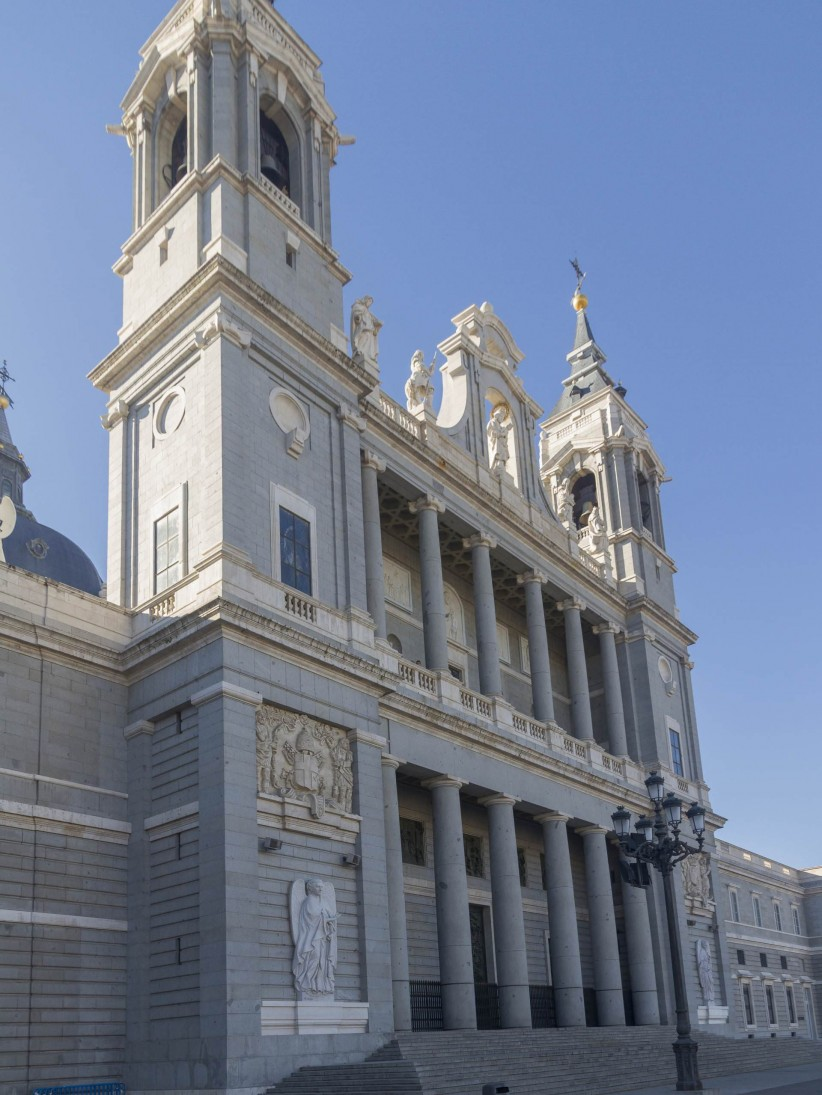 catedral, almudena, madrid