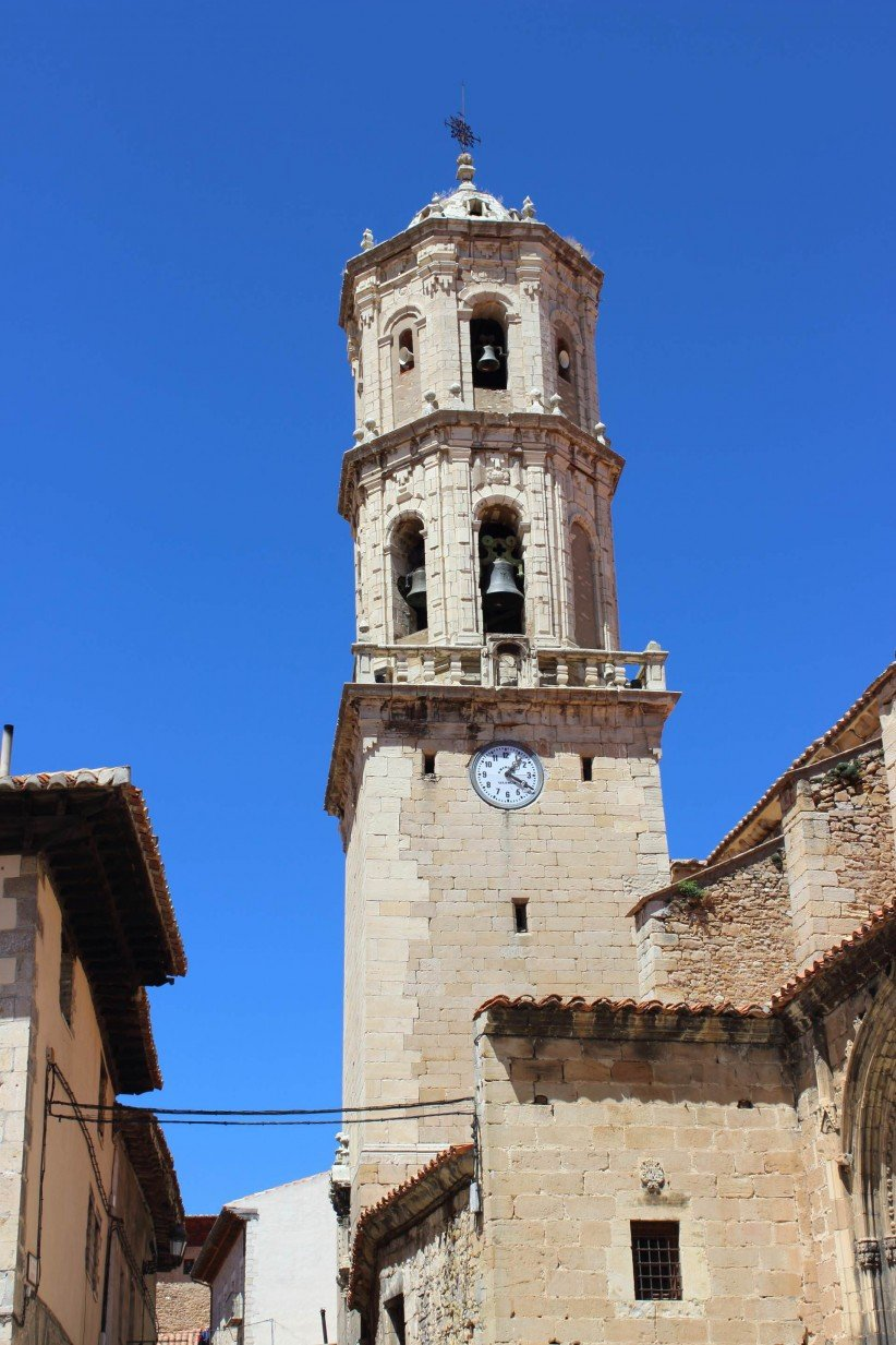 teruel, church of the assumption, mosqueruela