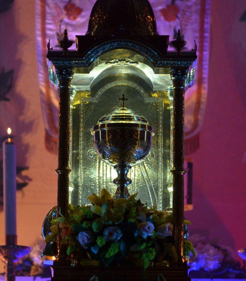 monument, easter, worship, holy thursday, paschal triduum