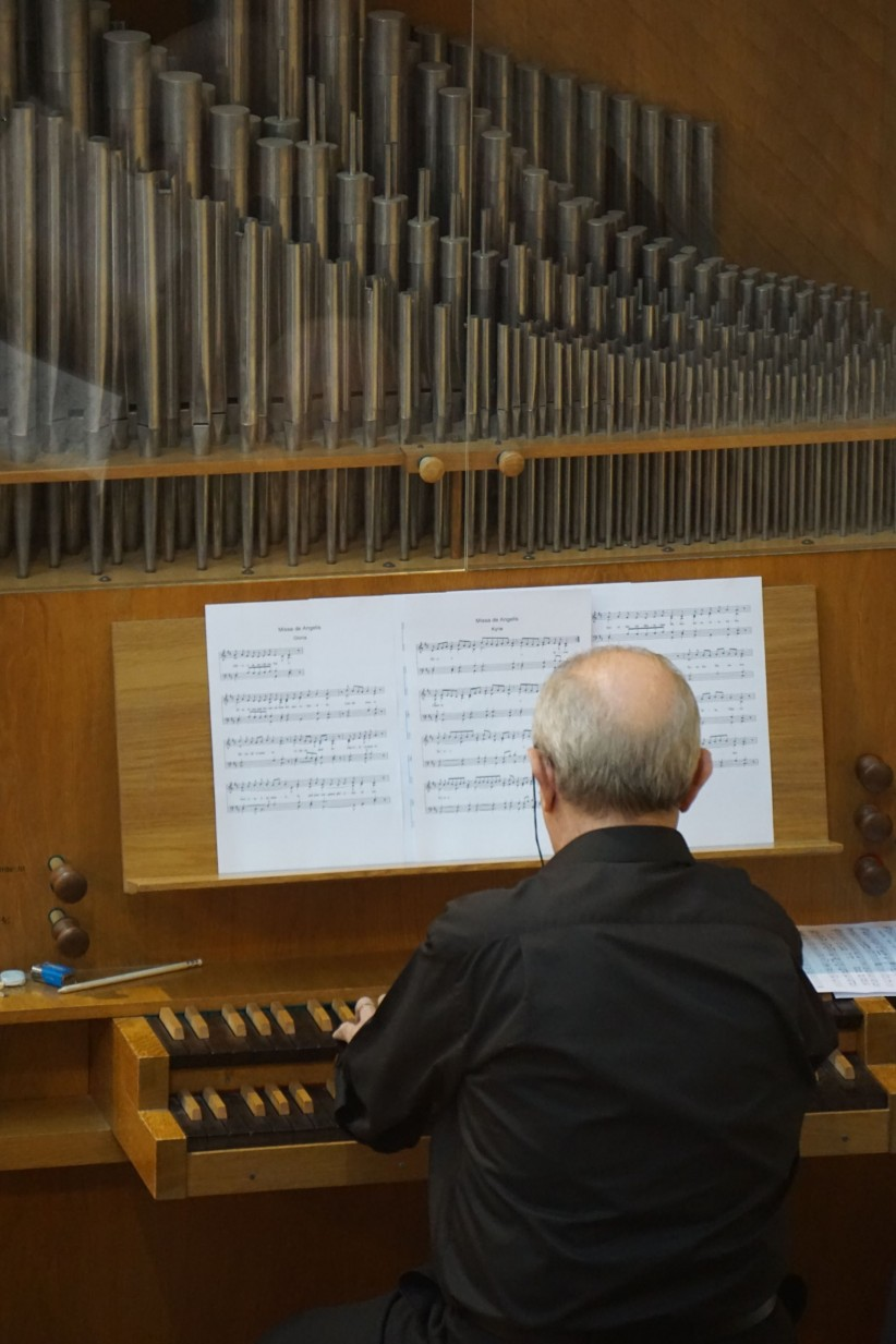 organ, music, liturgy, organist