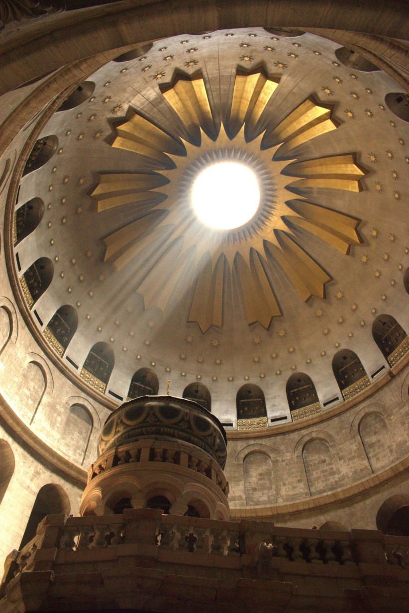 dome, resurrection, jerusalem, tomb, anastasis