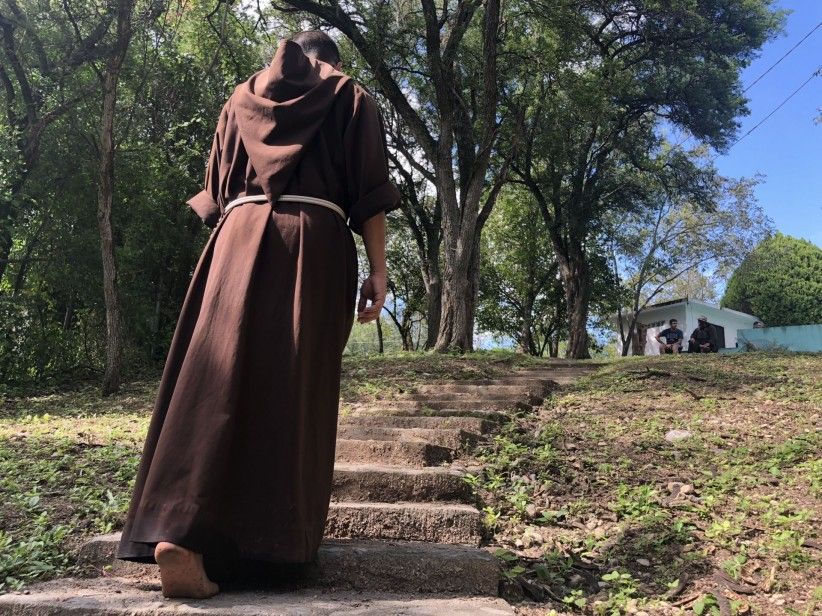 love, path, young boys, peace, fe, religious, franciscan, frayfoto