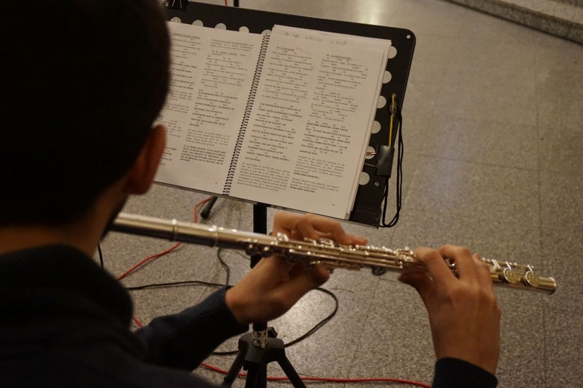 church, young, music, god, music, flute, catholic