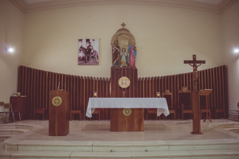 El altar que custodia Brochero