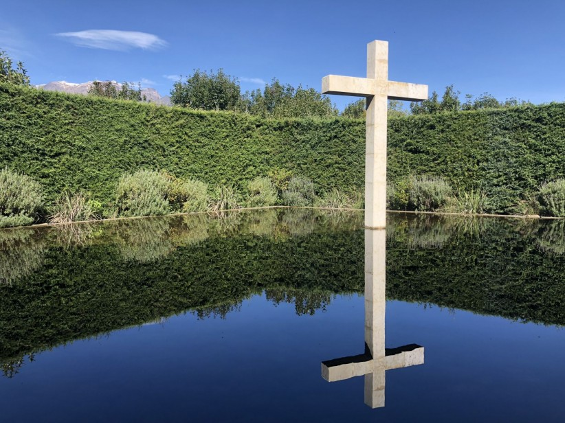 cross, peace, nature, reflection, frayfoto, youth