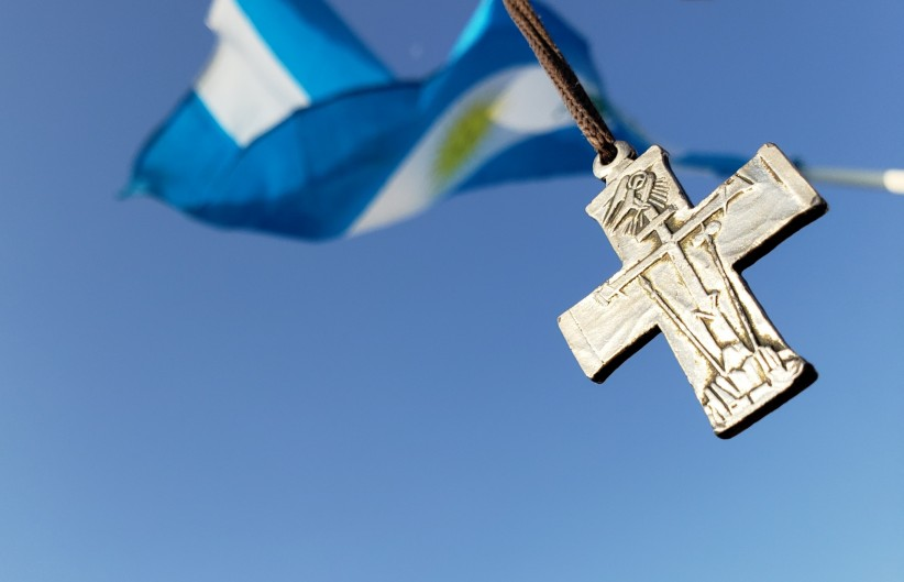 cross, sky, argentina, redeemer, jmj, flag, redemptorists, panama 2019