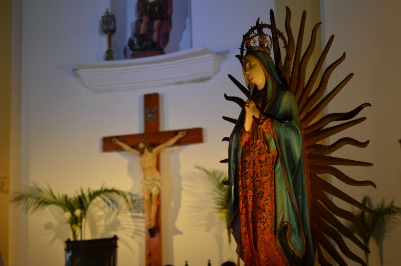 church, cross, christ, hands, mother, jesus, maria, peace, guadeloupe, holy, guadalupana, king, praying, beloved