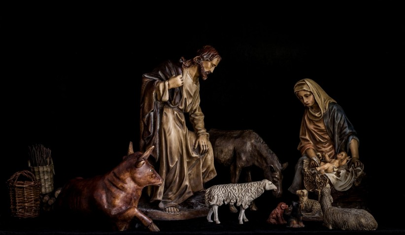 maria, belen, birth, manger, encarnacion, good night, saint joseph, child jesus