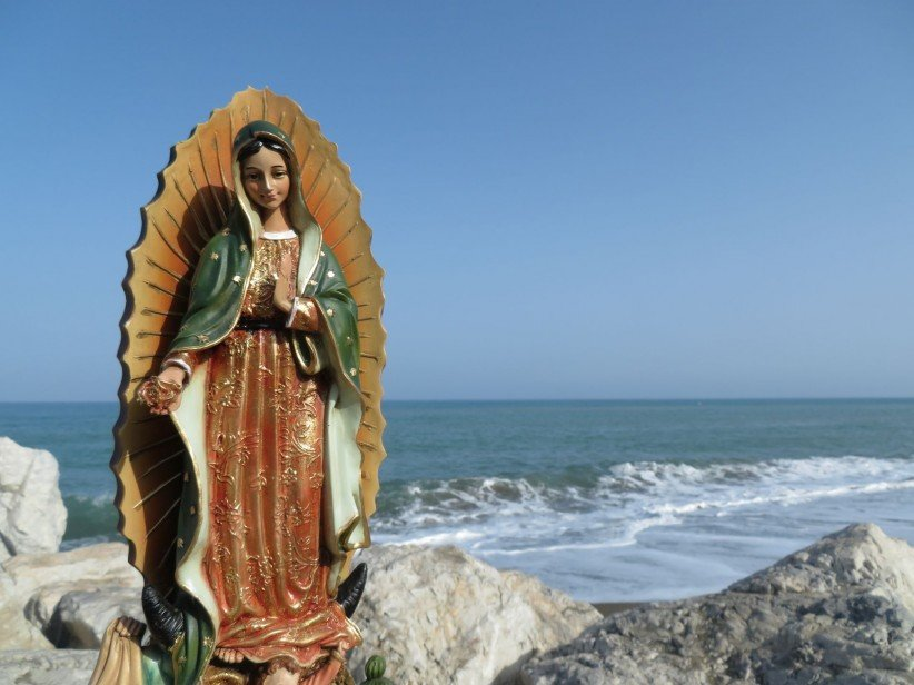 virgen,guadalupe,mar