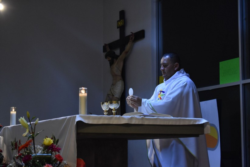 eucharist, consecration, mass