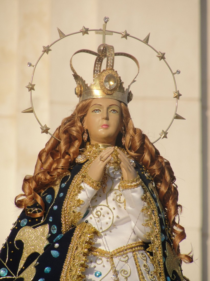 virgin, paraguay, caacupe