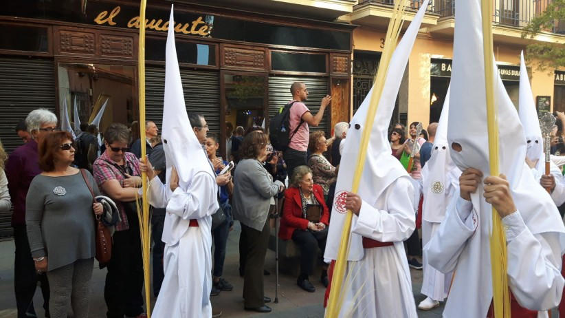 procession,  borriquita, sunday of spring