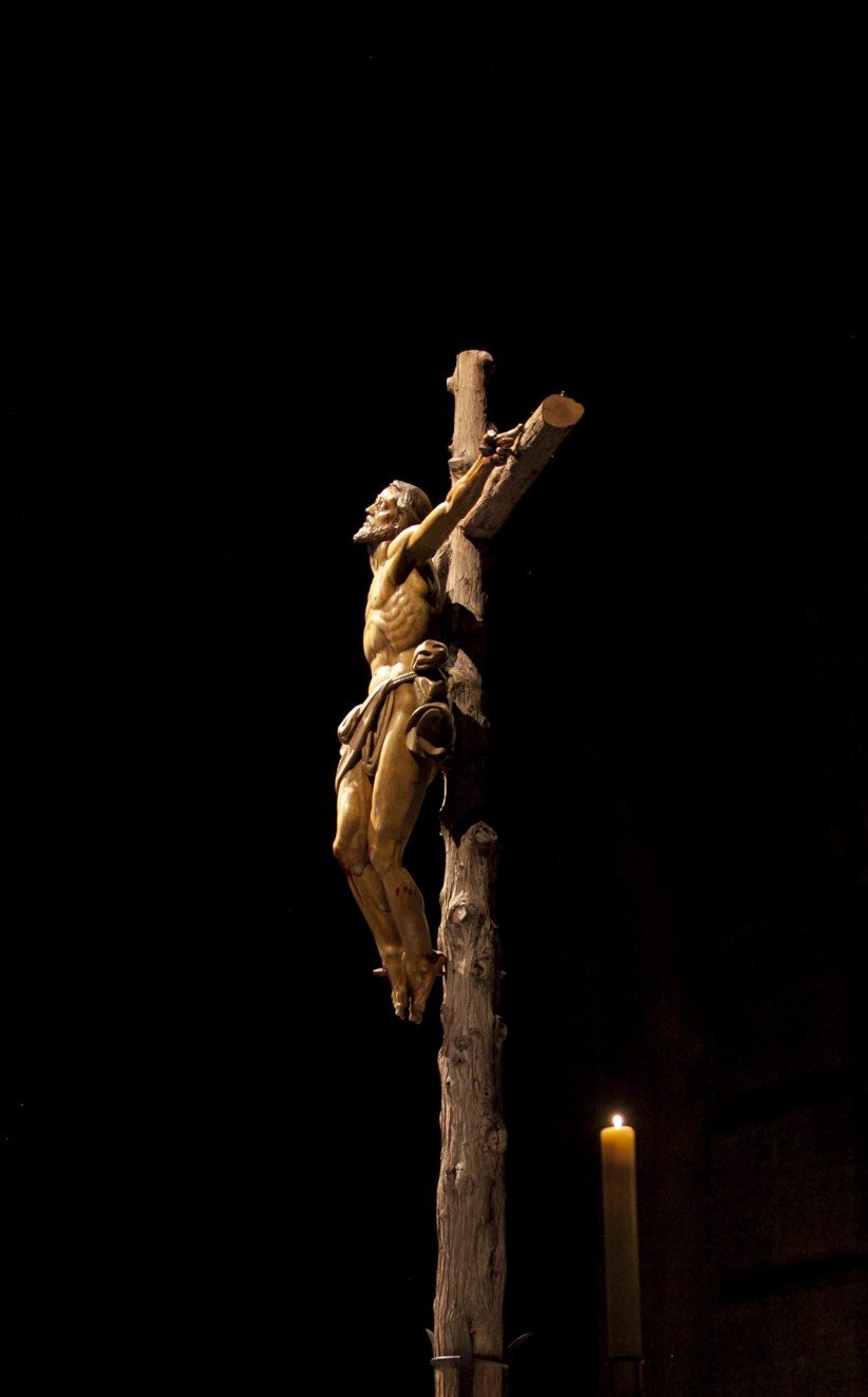cross, christ, basilica, jesus christ, valley of the fallen, monastery, abbey