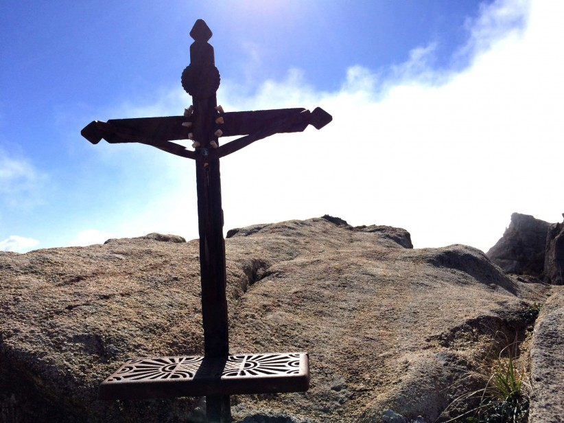 cross, sky, jesus, summit, top