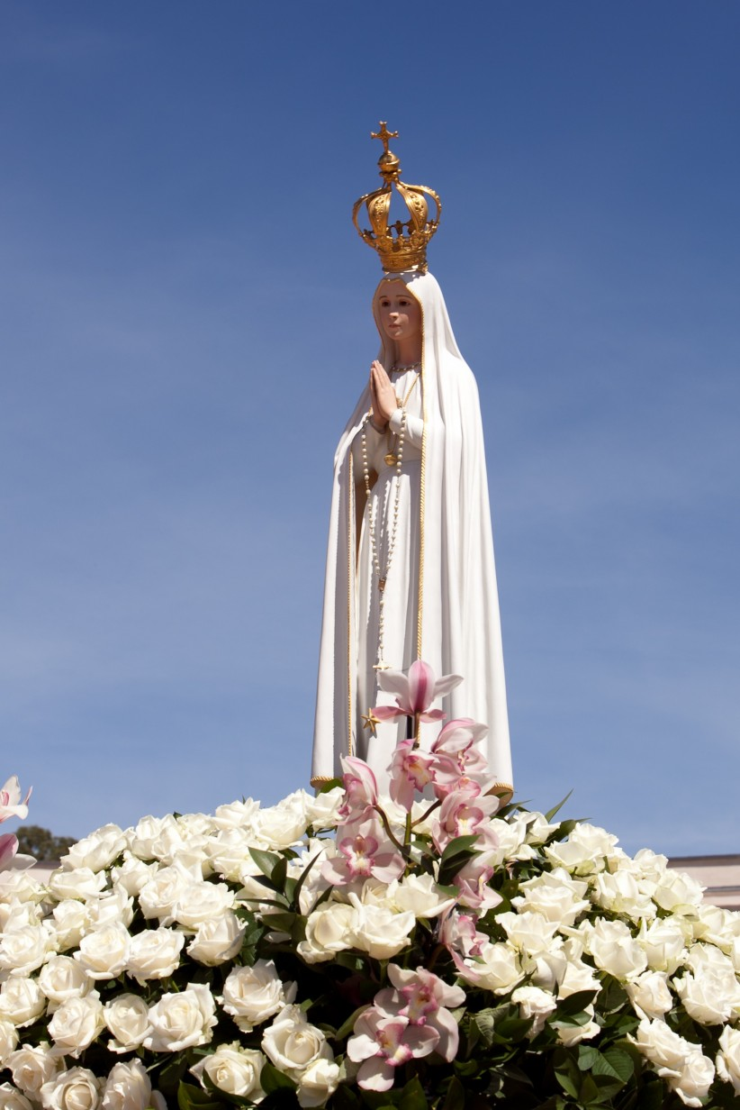virgin mary, holy rosary, fatima, fatima portugal, virgin of fatima, fatima sanctuary