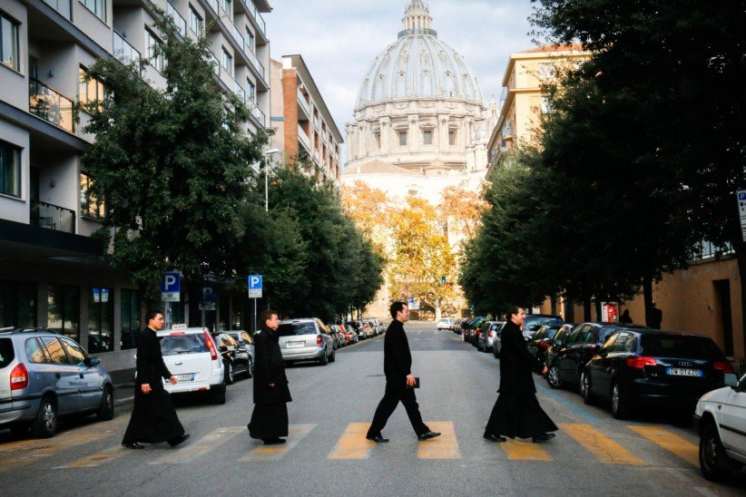 rome, dome, joy, seminarian, fe, walk, walking, beatles