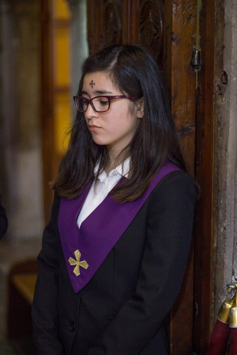 young, catholic, ash wednesday