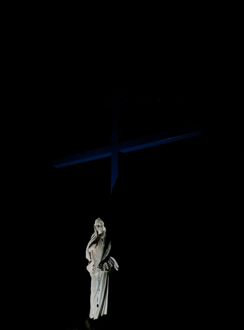 cross, virgin, maria, medjugorje