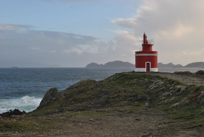 lighthouse, family, north