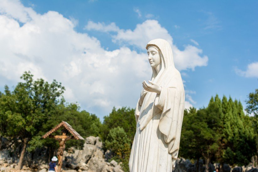 Medjugorje. Apparition Hill